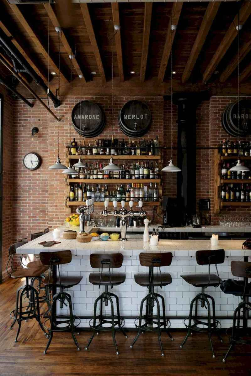 50 vintage bar decor ideas (11)