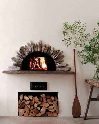60 awesome eclectic fireplace ideas (1)