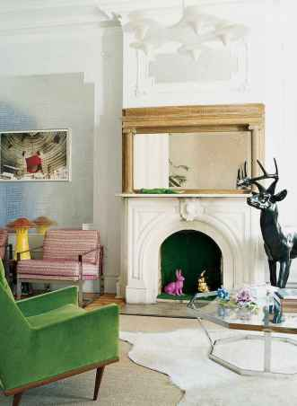60 awesome eclectic fireplace ideas (49)