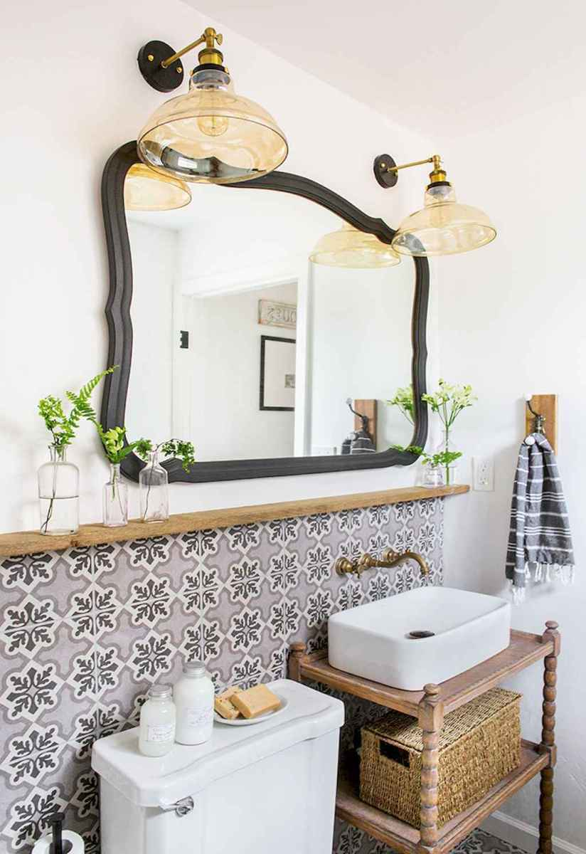 60 beautiful eclectic bathrooms to inspire you (23)