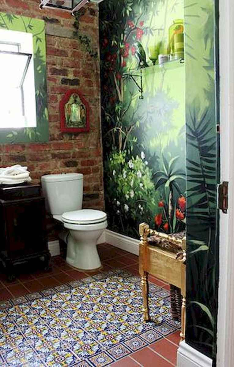 60 beautiful eclectic bathrooms to inspire you (37)