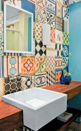 60 beautiful eclectic bathrooms to inspire you (38)
