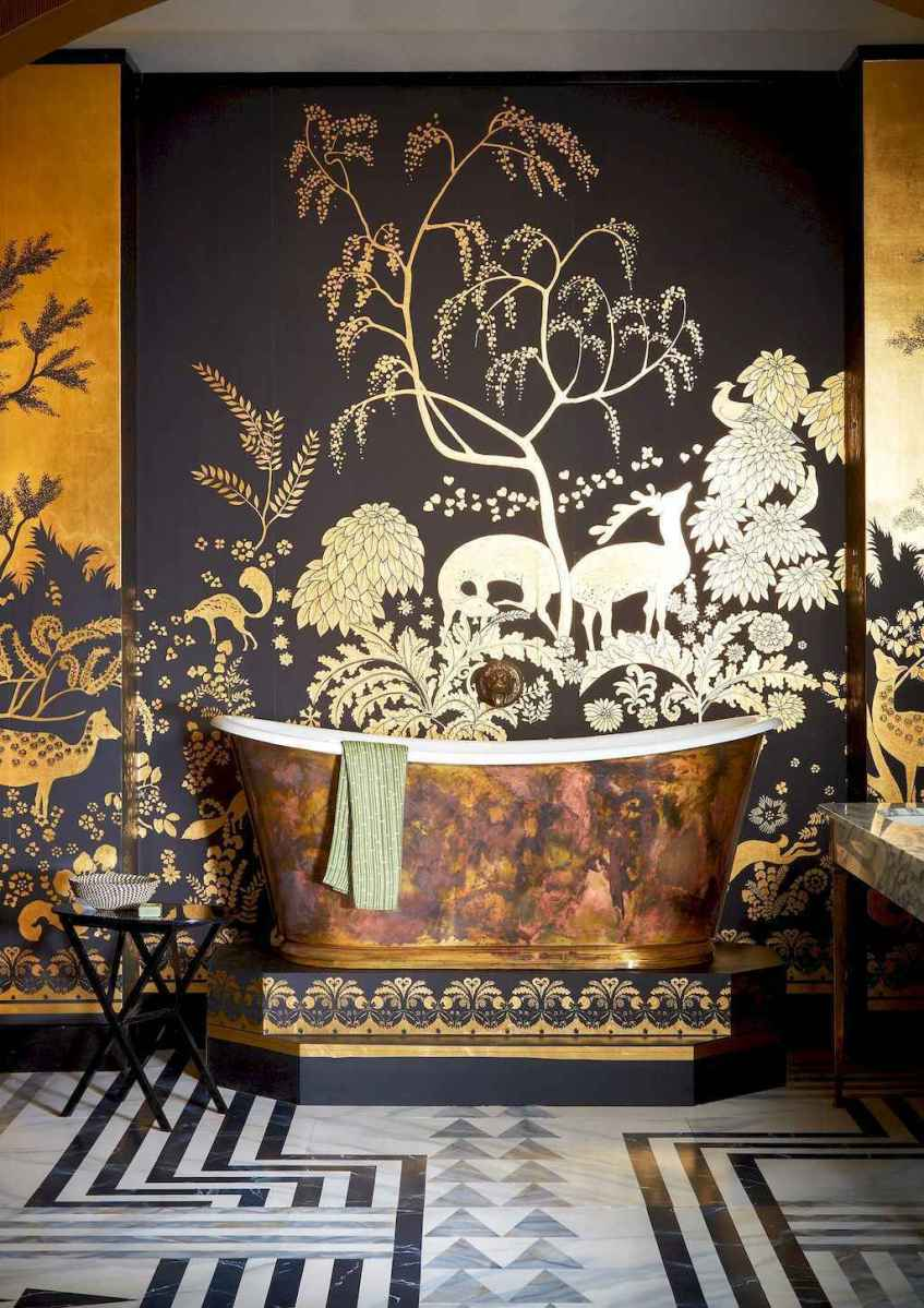 60 beautiful eclectic bathrooms to inspire you (8)
