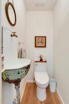 60+ beautiful vintage powder room ideas (14)