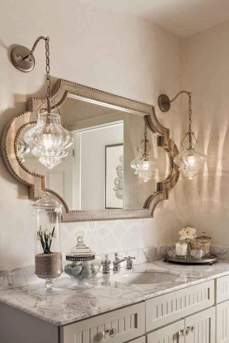 60+ beautiful vintage powder room ideas (38)