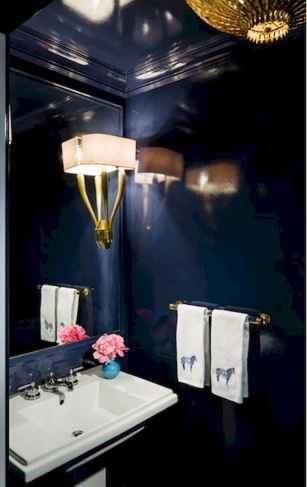 60+ beautiful vintage powder room ideas (40)