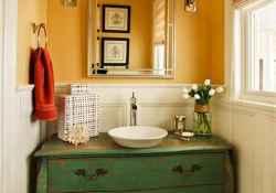 60+ beautiful vintage powder room ideas (41)