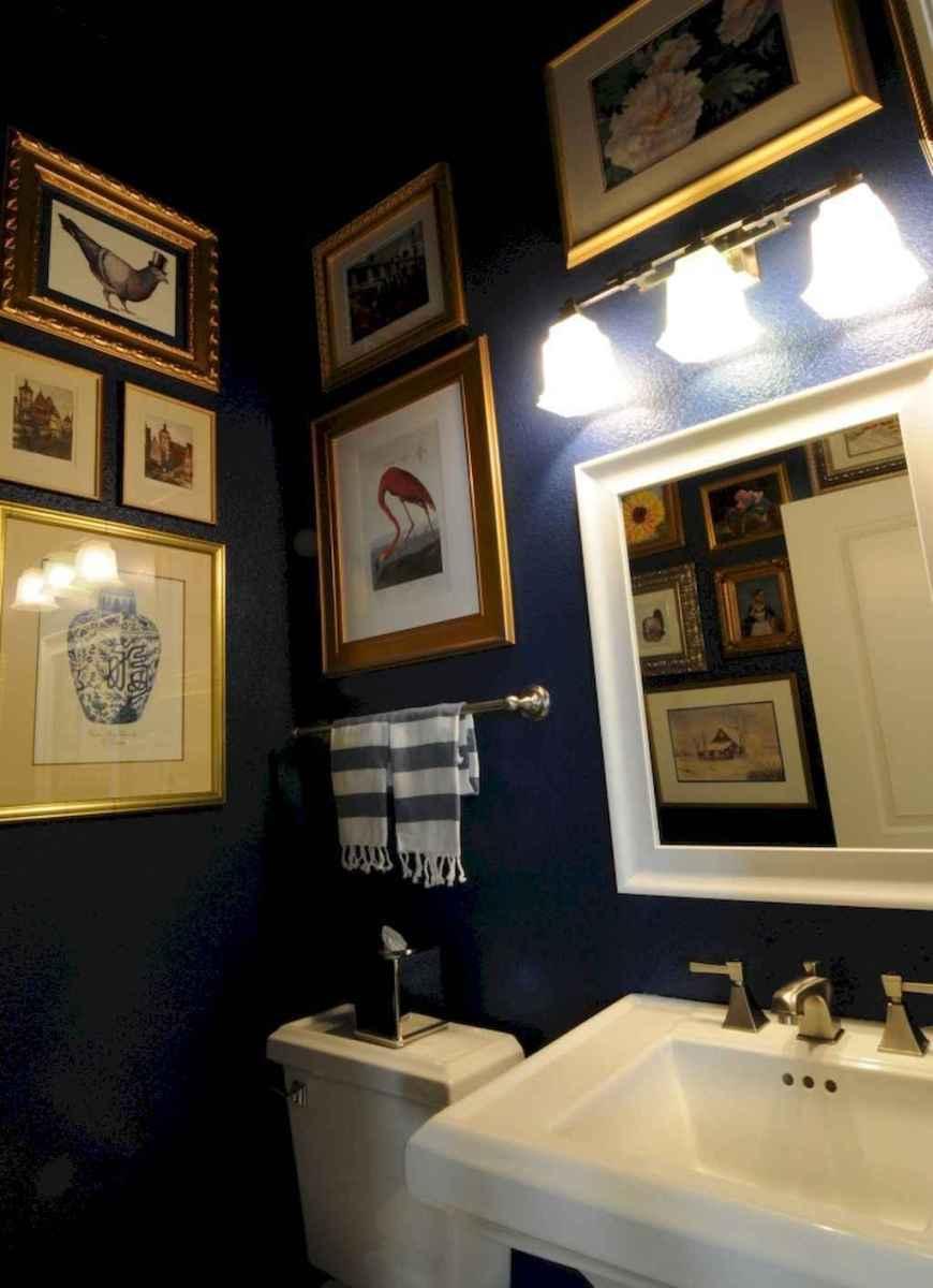 60+ beautiful vintage powder room ideas (63)