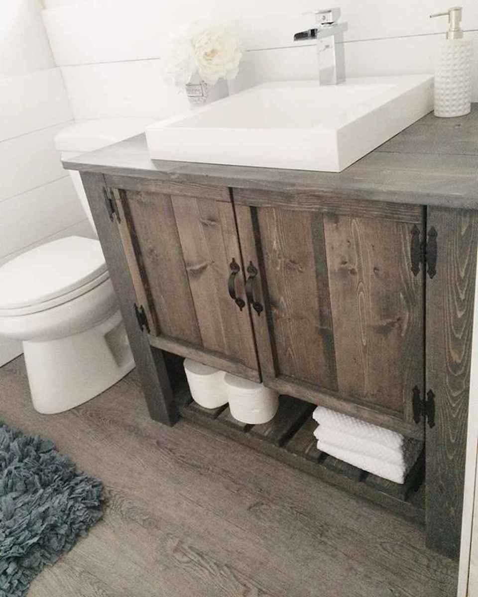 60 cool rustic powder room design ideas (18)