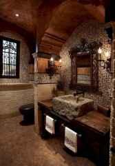 60 cool rustic powder room design ideas (37)