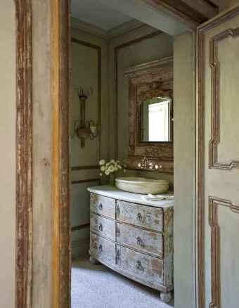60 cool rustic powder room design ideas (60)