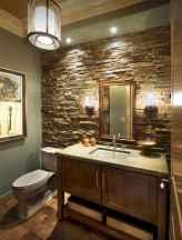 60 cool rustic powder room design ideas (8)