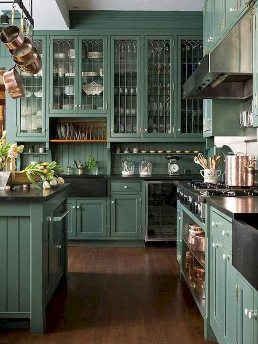 60 great vintage design ideas for your kitchen (37)