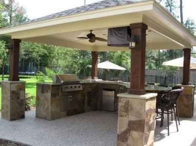 60 smart ideas for outdoor kitchens (54)