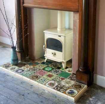 60 vintage fireplace ideas (10)