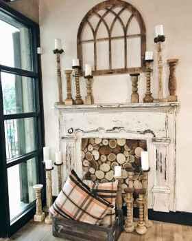 60 vintage fireplace ideas (11)