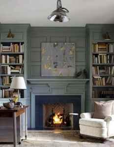 60 vintage fireplace ideas (55)
