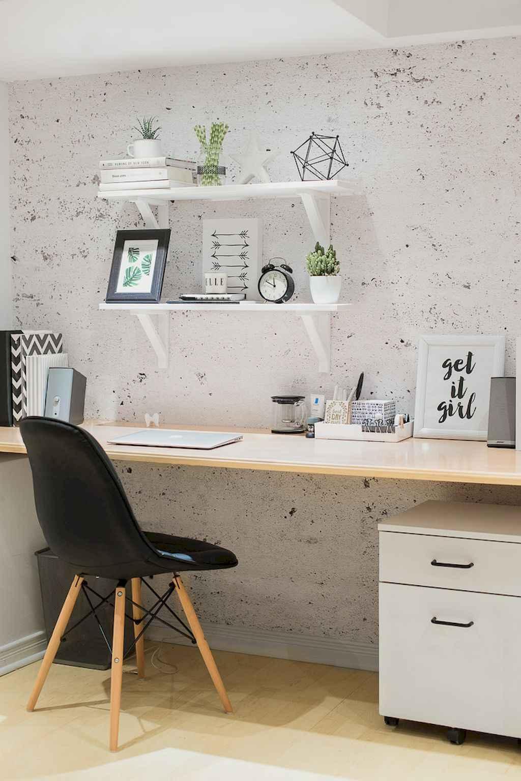 70 Home Office Scandinavian Design Ideas