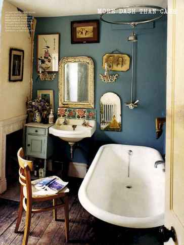 70+ stunning vintage bathroom decor & design ideas to inspire you (55)