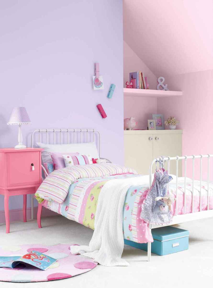 Beautiful decor bedroom for girls (14)