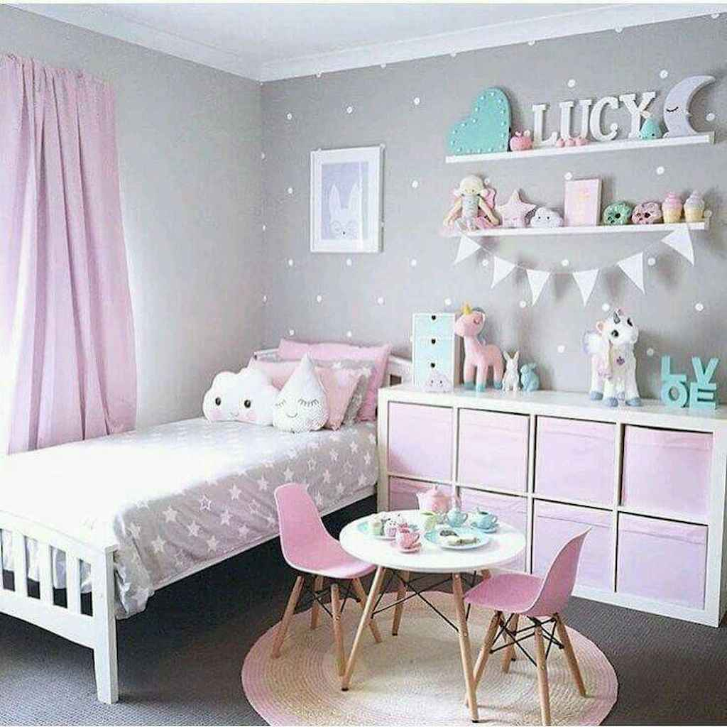 Beautiful decor bedroom for girls (27)
