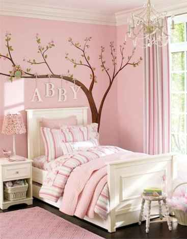 Beautiful decor bedroom for girls (34)