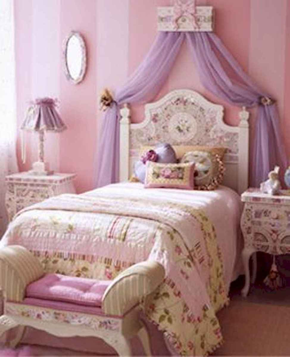 Beautiful decor bedroom for girls (42)