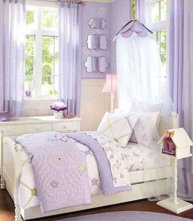 Beautiful decor bedroom for girls (45)