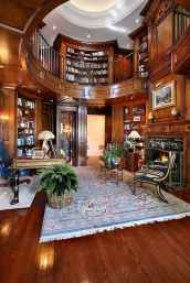 Cool home library design ideas (11)