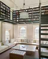 Cool home library design ideas (15)