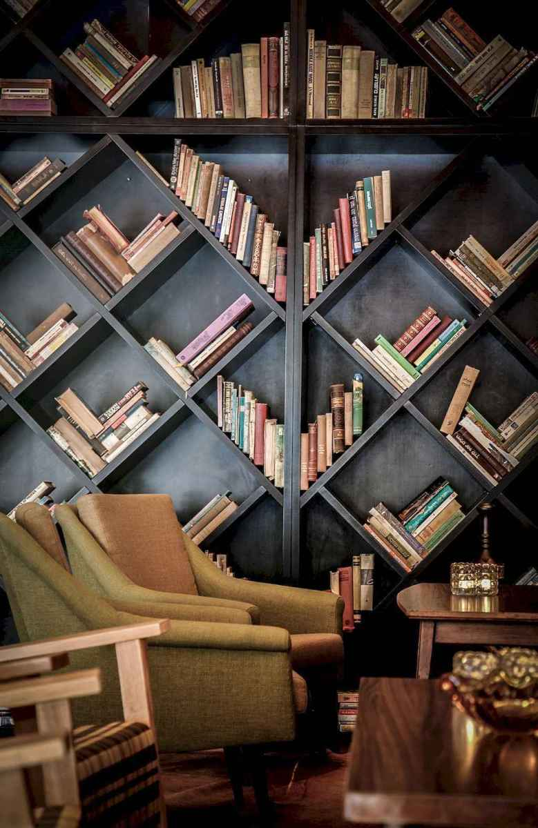 Cool home library design ideas (5)