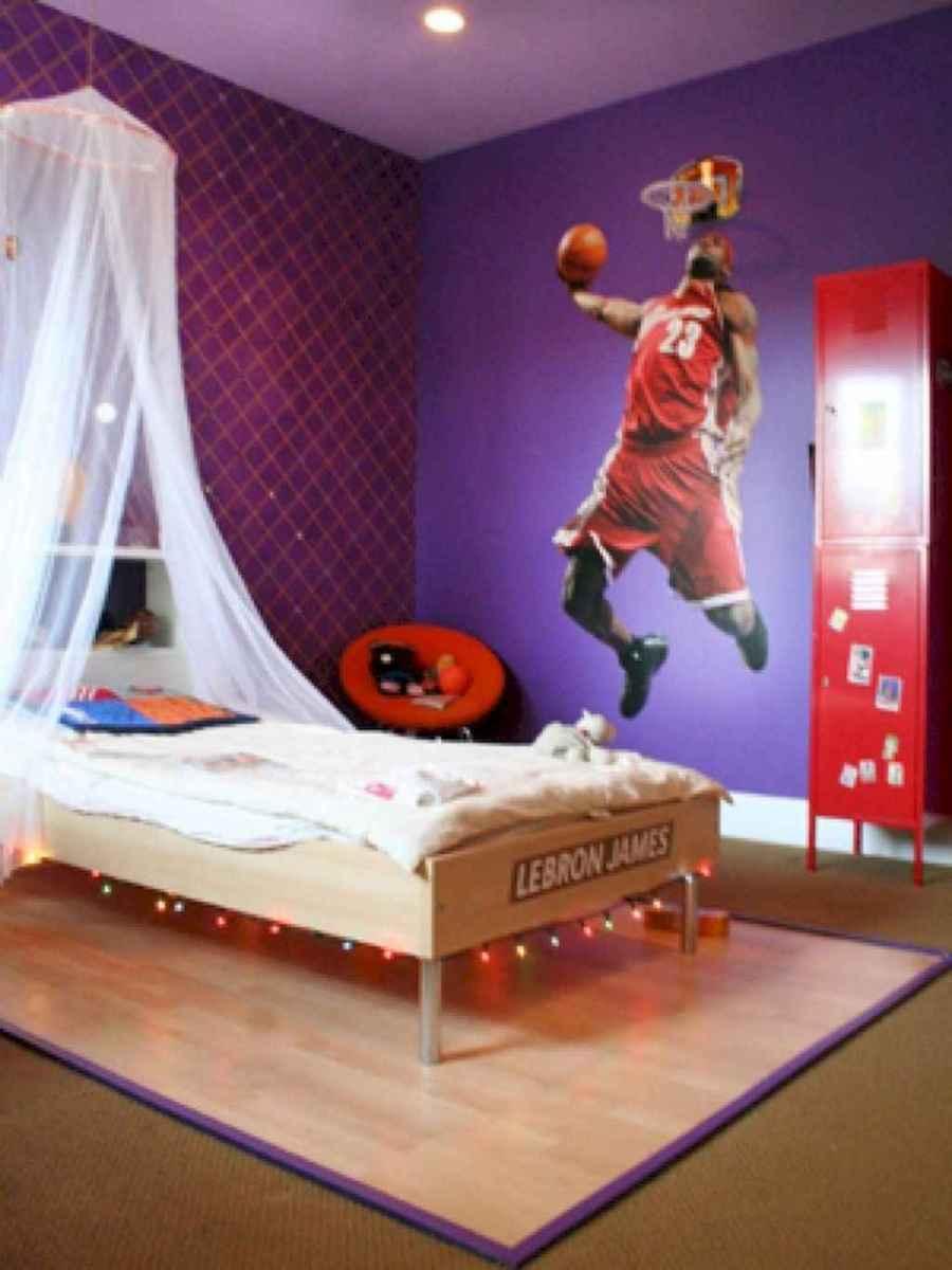 Cool sport bedroom ideas for boys (24)
