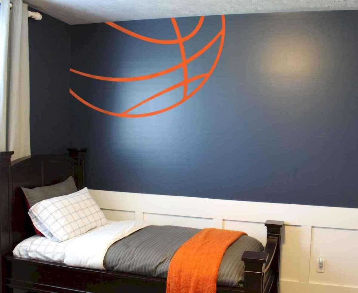 Cool sport bedroom ideas for boys (33)