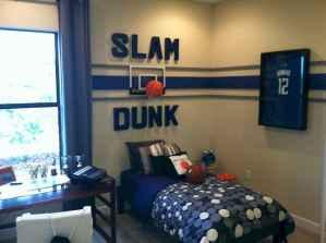 Cool sport bedroom ideas for boys (37)