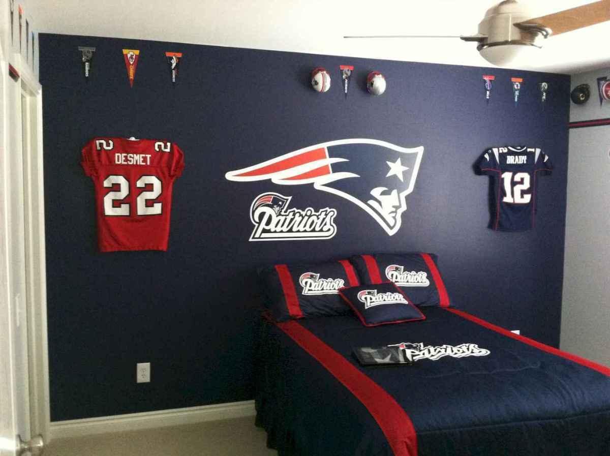 Cool sport bedroom ideas for boys (47)