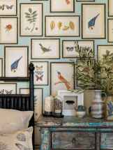 Gallery wall ideas bedroom (14)