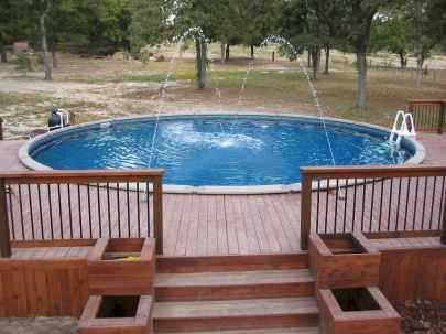 Ground pool ideas on a budget (4)