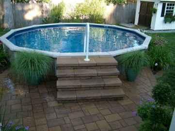 Ground pool ideas on a budget (42)