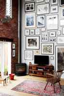 Inspired gallery wall living room (35)