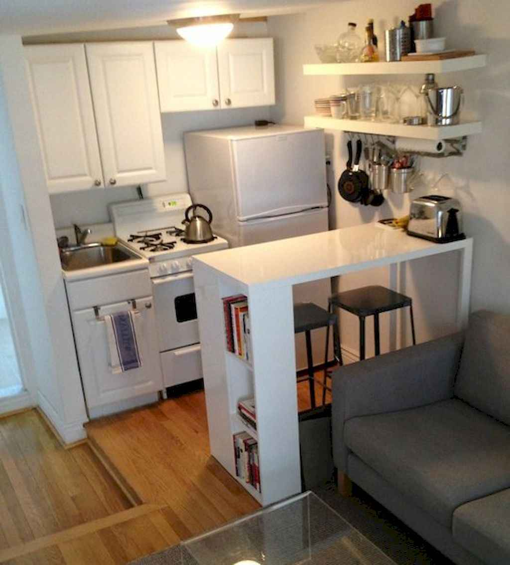 Simply apartment kitchen decorating ideas on a budget (24)