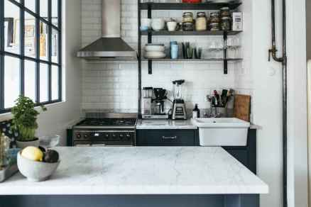 50 Simply Apartment Kitchen Decorating Ideas on A Budget ...