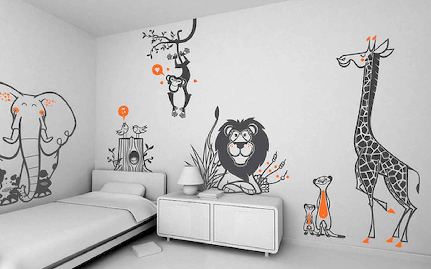 Simply ideas bedroom for kids (40)