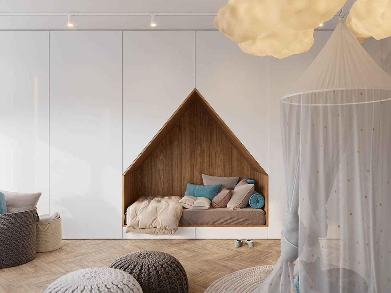 Simply ideas bedroom for kids (49)