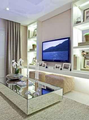 Unique tv wall living room ideas (14)