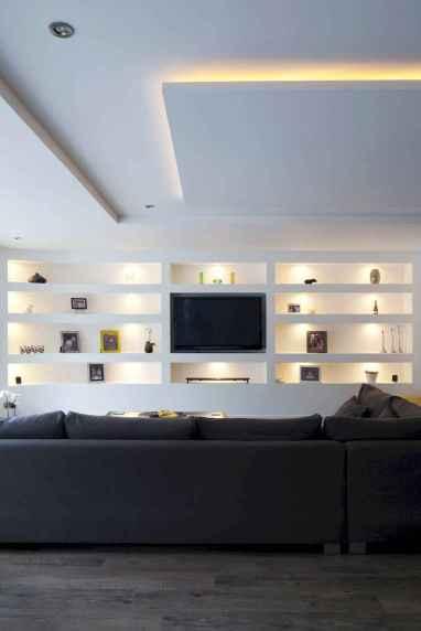 Unique tv wall living room ideas (18)