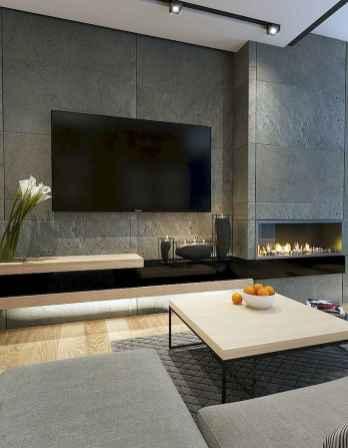 Unique tv wall living room ideas (26)