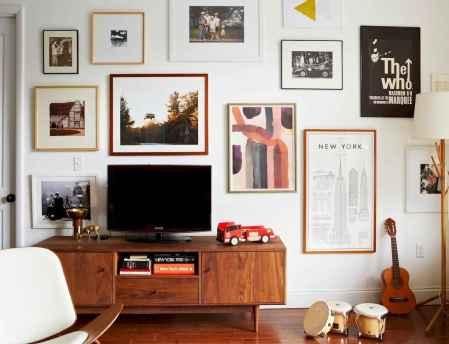 Unique tv wall living room ideas (50)
