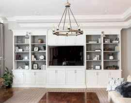 Unique tv wall living room ideas (6)