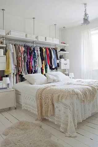 100 Awesome Apartment Studio Storage Ideas Organizing (122)