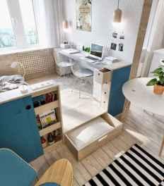 100 Awesome Apartment Studio Storage Ideas Organizing (44)